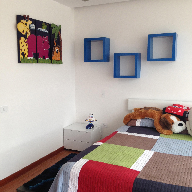 Detalle decorativo habitación niño