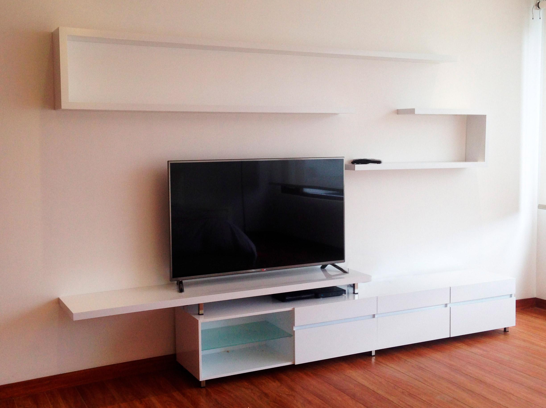 Mueble TV dormitorio master